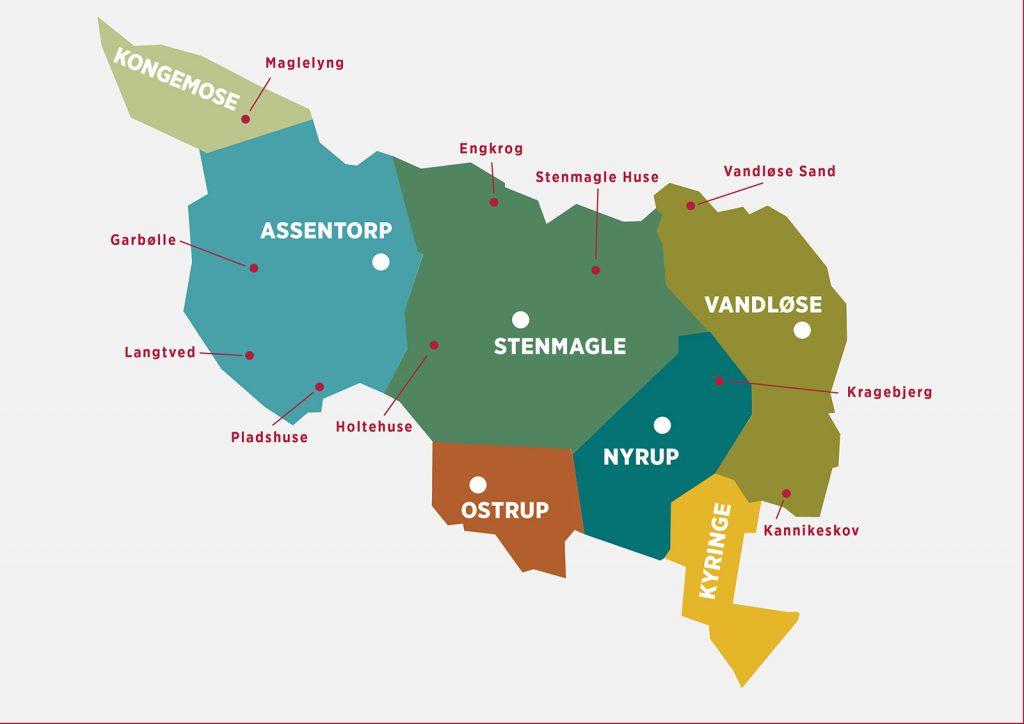 Topografi Stenmagle Lokalhistoriske Forening